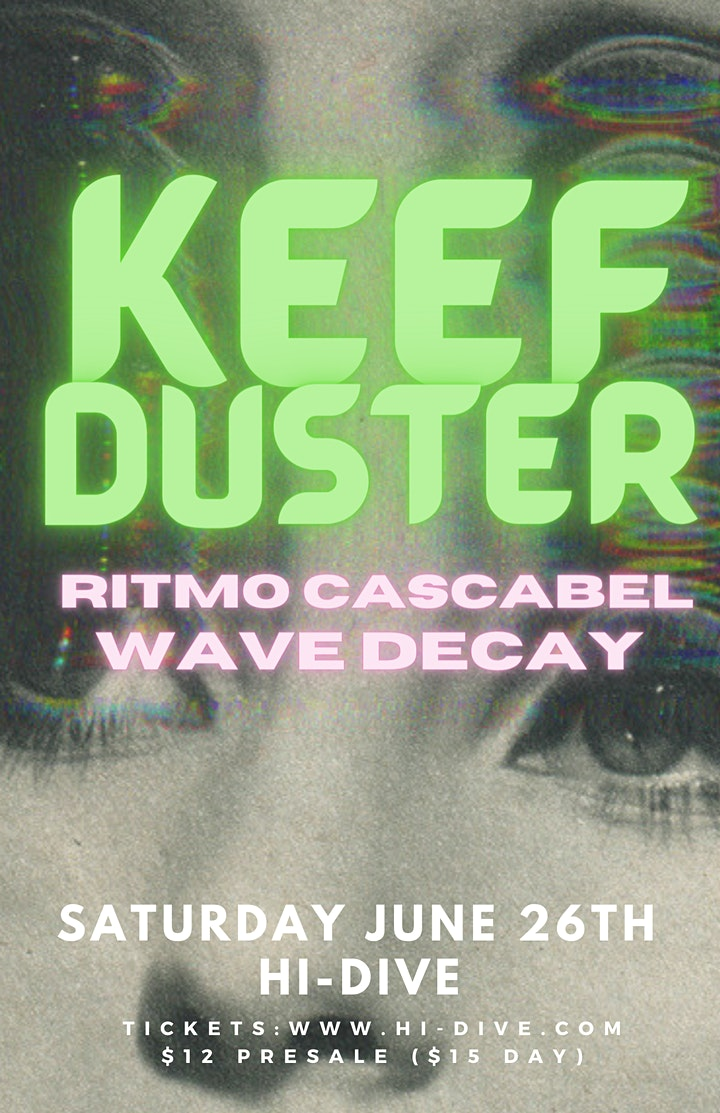 Keefduster / Ritmo Cascabel / Wave Decay image