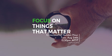 ConsciousNet: Focus On Things That Matter tickets