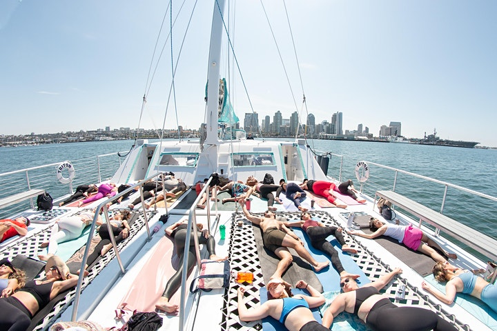 SoulStoked - Morning Yoga on the Sea image