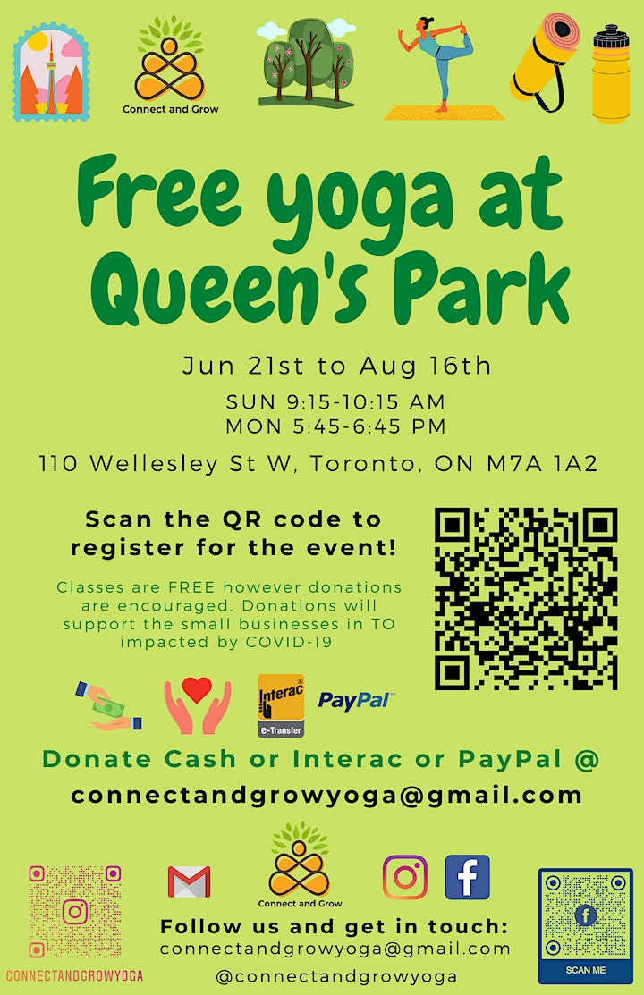 Free Yoga at Queen's Park image