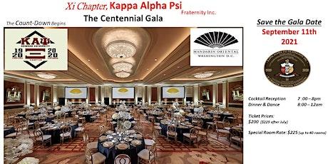 Kappa Alpha Psi, Xi Chapter Centennial Gala Evening tickets