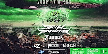 SNATCHA TOUR featuring DirtySnatcha & Autokorekt at The Big Dipper Spokane tickets