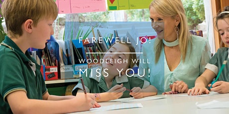 Farewell Jo! Woodleigh will  Miss You! Take 2! tickets