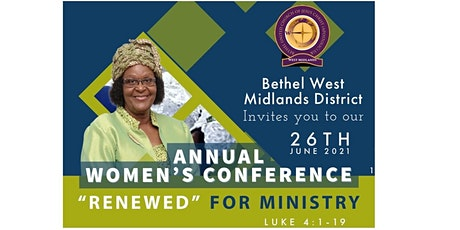 Annual Women's Conference - Renewed for Ministry tickets