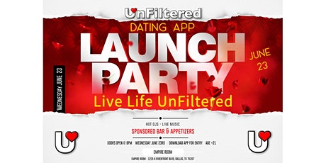 UnFiltered Launch Party tickets