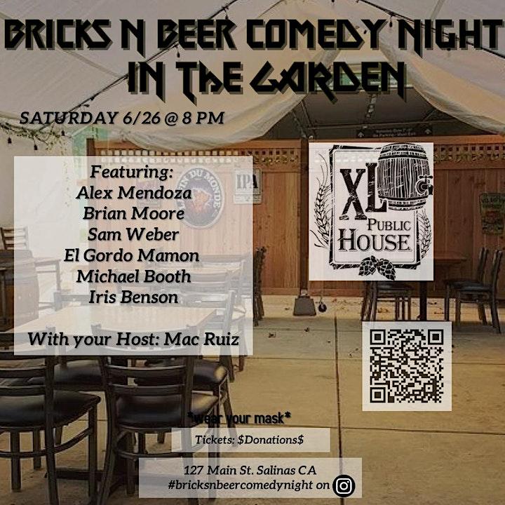 Bricks N Beer Comedy Night image