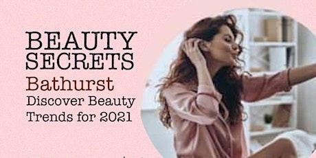 BEAUTY SECRETS. Skincare tips & Make-up demo tickets