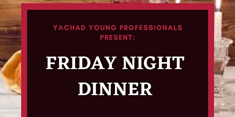Yachad Young Professionals Shabbat Dinner tickets