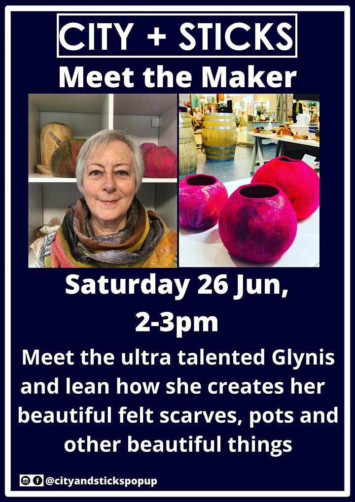 Meet the Maker - Glynis from Glen Mist Felt image