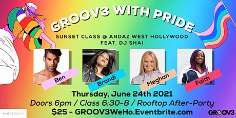 GROOV3: Pride edition @ The Andaz West Hollywood tickets