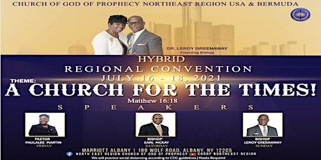 COGOP Northeast Region USA & Bermuda   Hybrid Regional Convention 2021 tickets