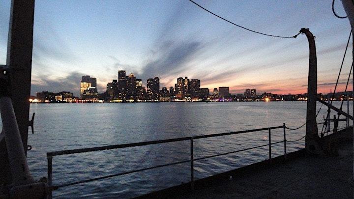 Celebrate Boston Harbor Fireworks from Nantucket Lightship/LV-112 image