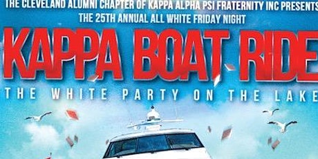 Kappa Boat Ride (All White Friday Night) tickets