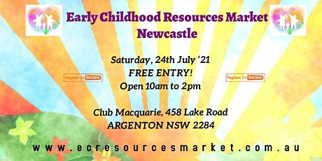 Early Childhood Resources Market - July ECRM2021 Newcastle tickets
