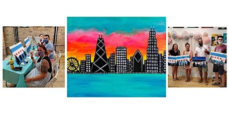 "Copy of BYOB Sip & Paint Class ""Chicago Skyline"" tickets"