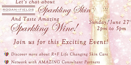 Sparkling Skin and Wine Event! tickets