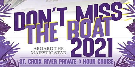 """""""Don't Miss the Boat 2021!"""" tickets"""