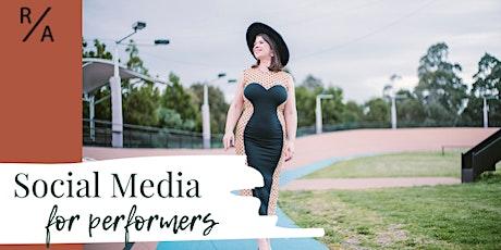 Social Media for Performers: Online Workshop tickets