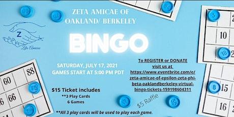 Epsilon Phi Zeta Amicae Auxillary Virtual Bingo Fundraiser tickets
