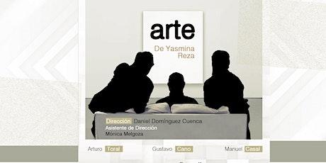 "Obra de teatro ""ARTE"" de Yasmina Reza entradas"