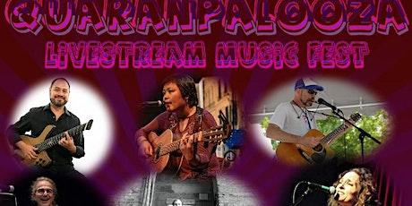 June 2021 QuaranPalooza Livestream Music Fest tickets