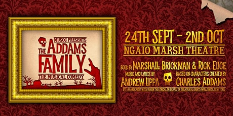 MUSOC Presents: The Addams Family tickets