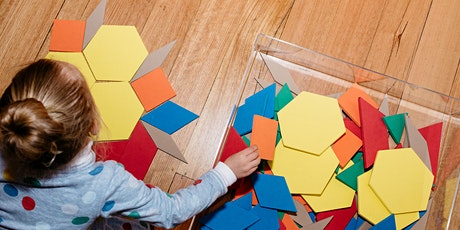 Eye spy art adventures for wee ones—colour, shape and texture tickets
