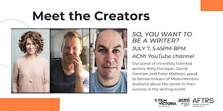 So, You Want to be a Writer? tickets