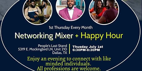 Business and Pleasure (Networking Mixer + Happy Hour) tickets