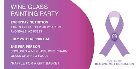 Wine Glass Painting Party tickets