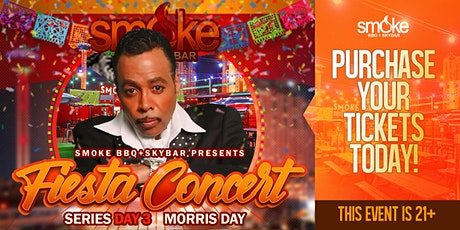 Smoke Fiesta Concert Series - MORRIS DAY AND THE TIME tickets