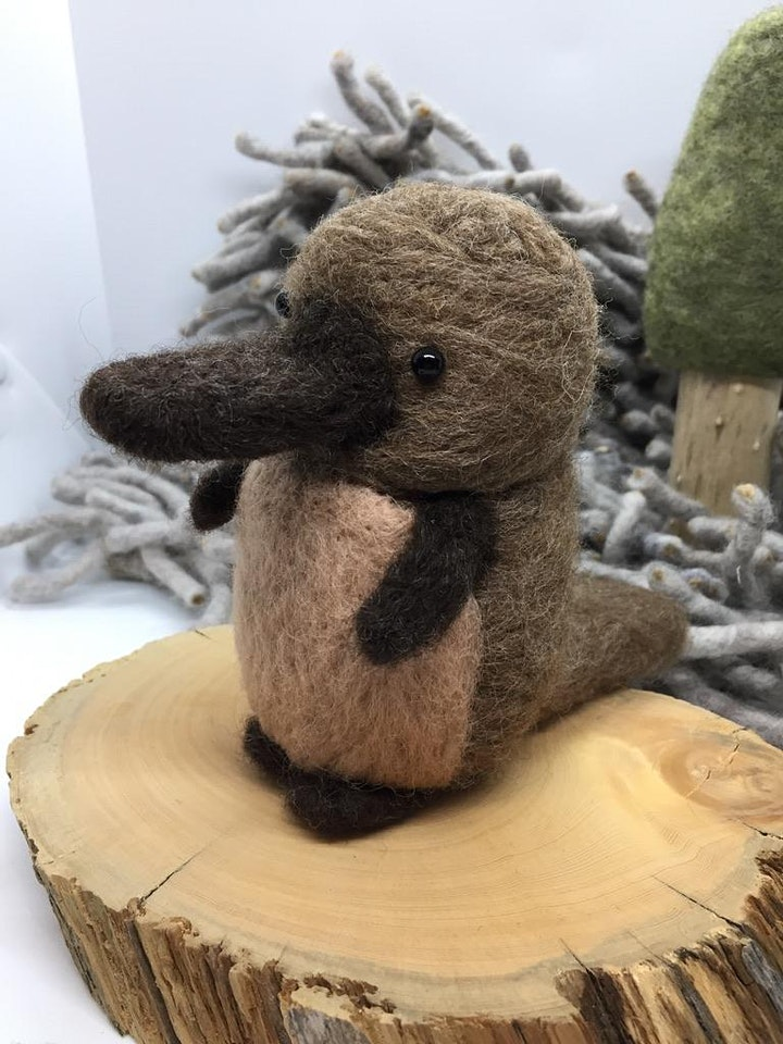 Needle Felted Platypus Workshop image