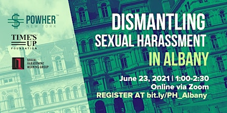 Dismantling Sexual Harassment in Albany tickets