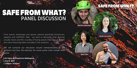Affinity Initiative & Arc'teryx Panel Discussion | Safe from What? tickets
