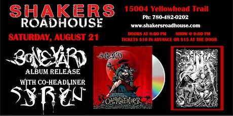 Boneyard (Album Release) Ft. SYRYN tickets