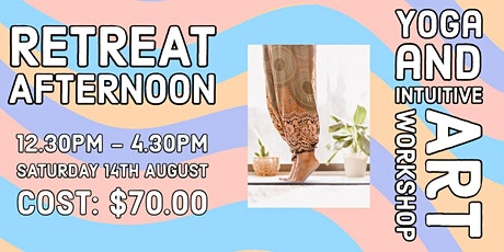 Retreat Afternoon |  Yoga and Intuitive Art Workshop| Glandore tickets