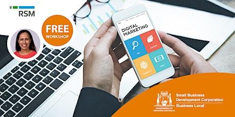 Digital Marketing Health Check (Geraldton) tickets