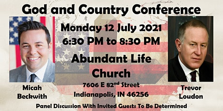 God and Country Conference tickets