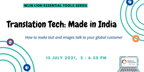 WLIN Translation Tech: Made in India tickets
