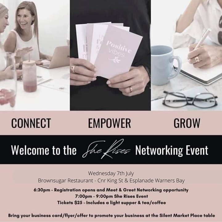 She Rises - Personal Development Workshop and Networking Event image