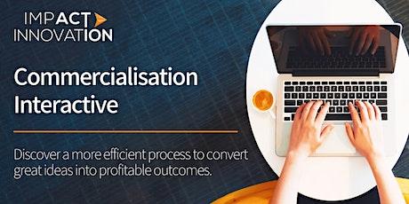 Commercialisation Interactive Workshop tickets