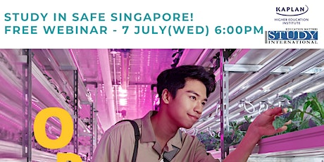 Study a UK or Australian degree in Safe Singapore! tickets