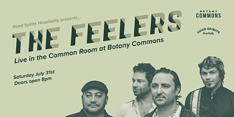 The Feelers LIVE at Botany Commons tickets