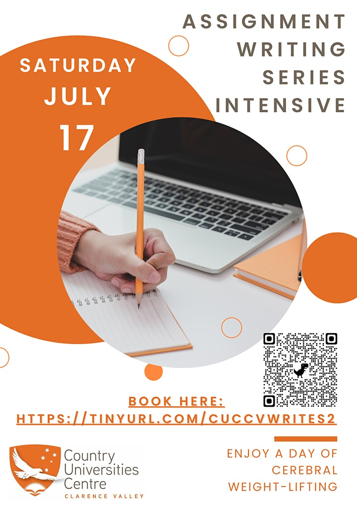 Assignment Writing Series Intensive (All Day Registration) image
