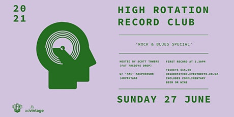 High Rotation Record Club - Rock & Blues Special tickets