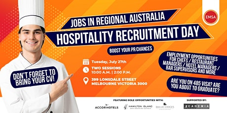 Regional Jobs for Chefs - Academia recruitment day tickets