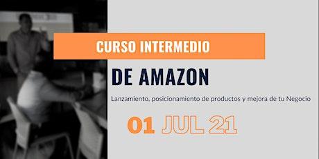 Curso Intermedio Presencial de Amazon Seller México boletos