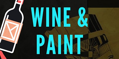 Dinner with Wine & Paint tickets