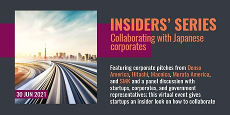 Insiders' Series - Collaborating with Japanese Corporates tickets
