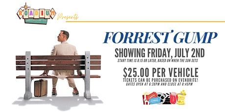FORREST GUMP  - Presented by The Roadium Drive-In tickets